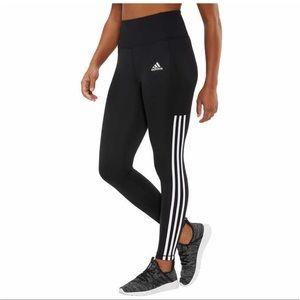 adidas Ladies' 7/8 3-Stripe Active Tight